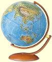Рельефные глобусы