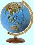 Выбрать рельефный глобус