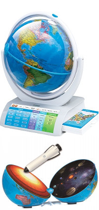 Oregon Scientific SmartGlobe Explorer AR SG338R